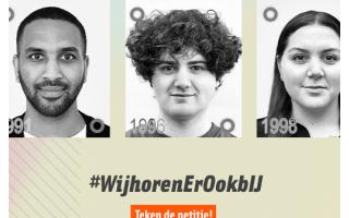 Petitie voor pardonners: #wijhorenerookbij