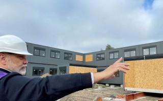 Nieuwbouw LVV Groningen schiet uit de grond