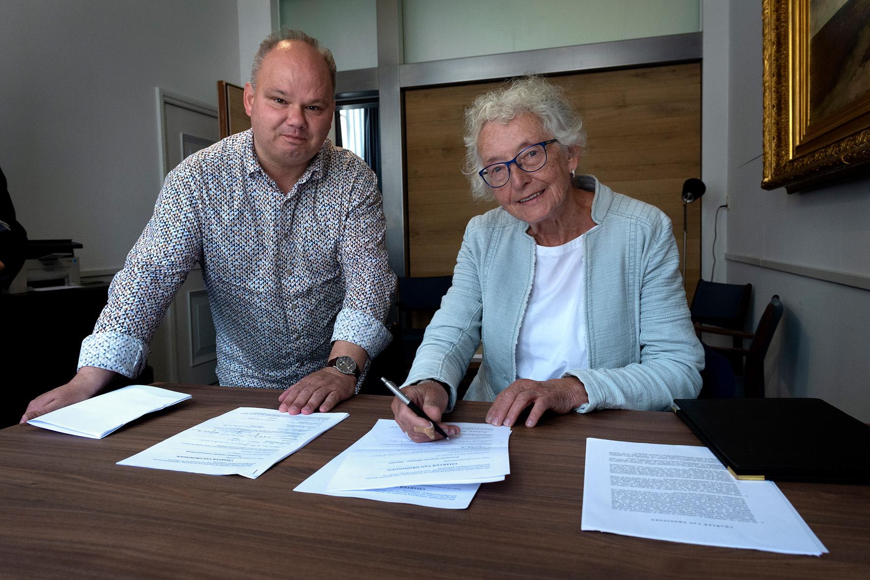 Tekenen Charter in DK 23jun2018 Grieke Land en Miljenko Braam