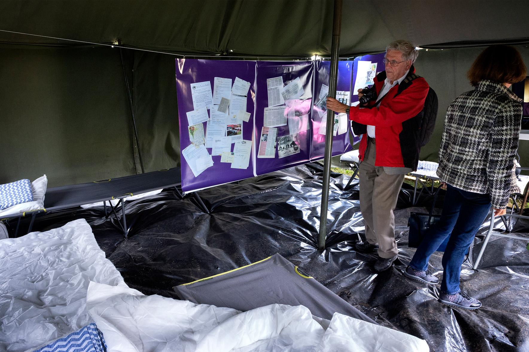 Tentenkamp Dwingeloo op expositieterrein zat 23 jun 2018