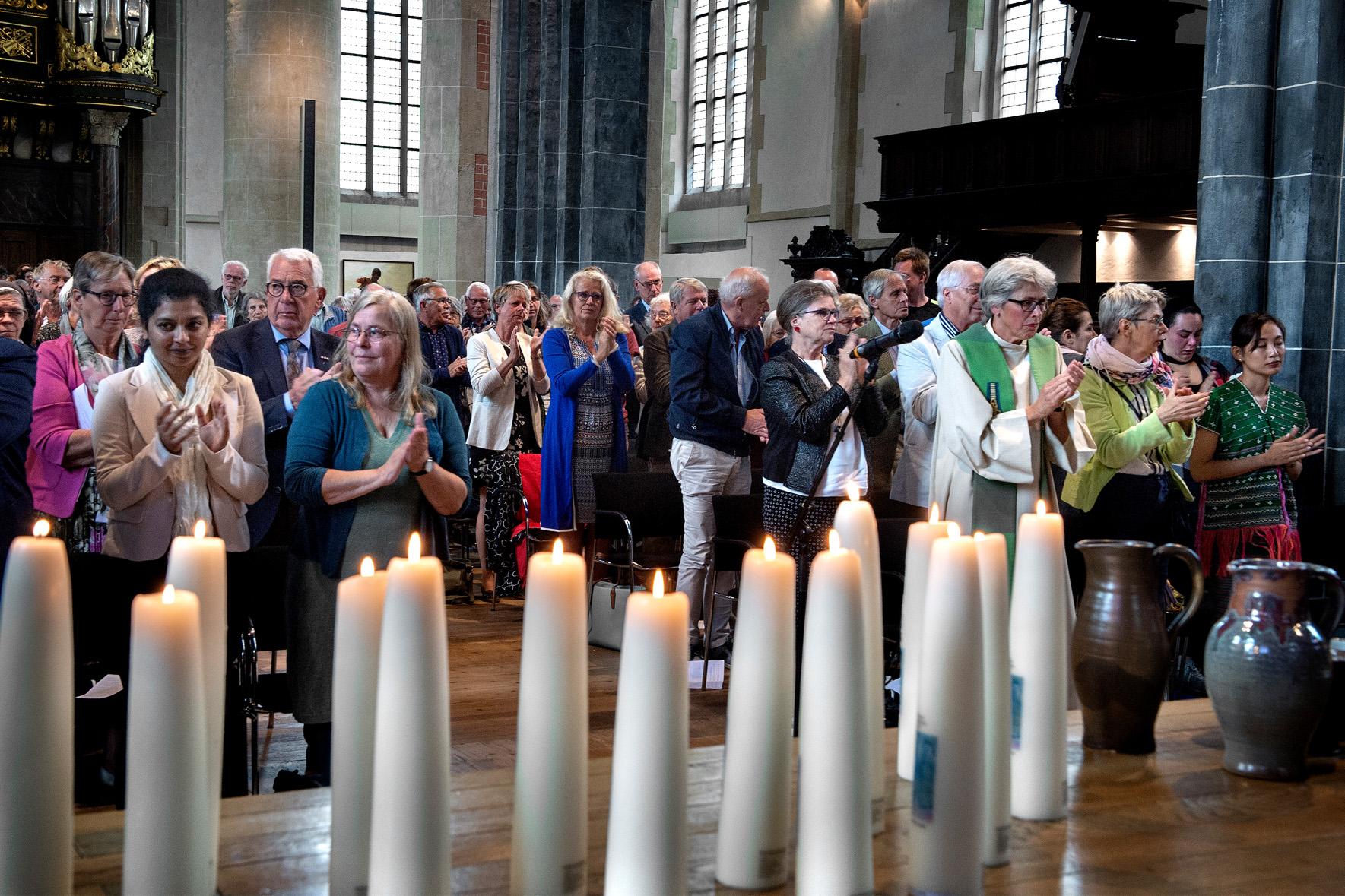 Martinikerk zondag 23 juni applaus