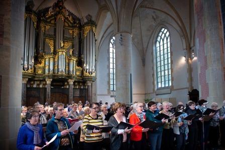 Martinikerk 22dec2018 music and gift koor