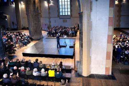 Martinikerk 22dec2018 music and gift publiek