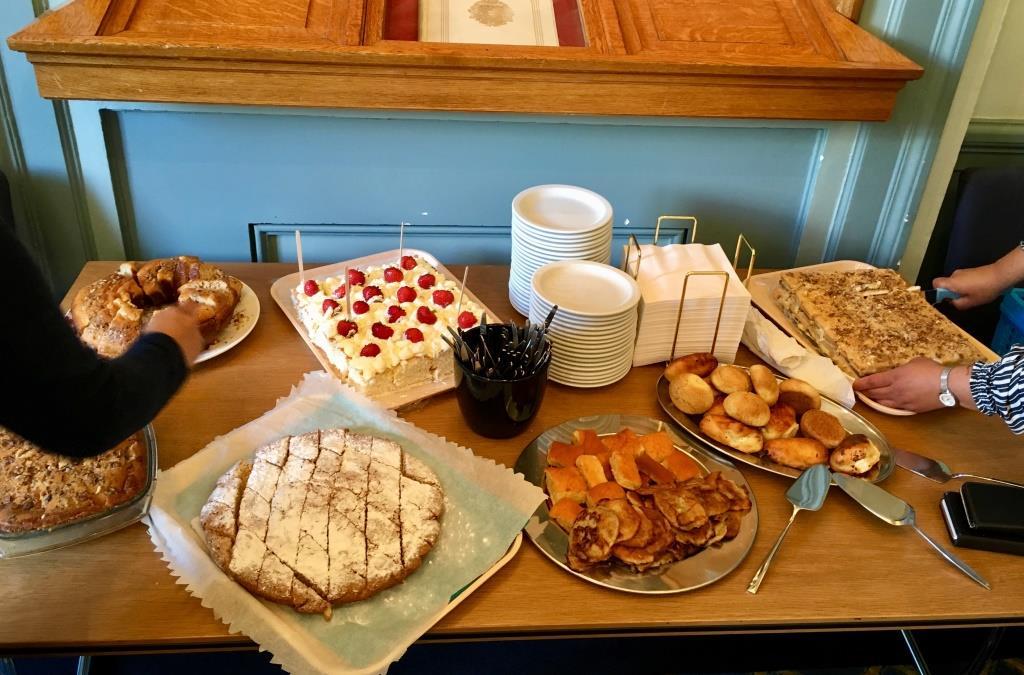 gebak voor gemeenteraad Gron 3juli2019