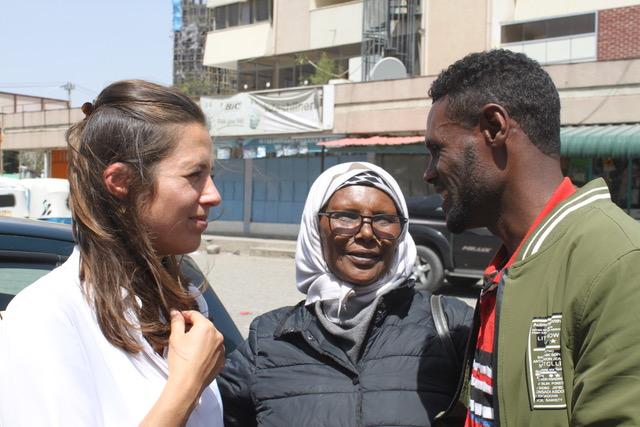 Sabu en Juliette in Ethiopië